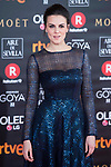 Melina Matthews attends red carpet of Goya Cinema Awards 2018 at Madrid Marriott Auditorium in Madrid , Spain. February 03, 2018. (ALTERPHOTOS/Borja B.Hojas)