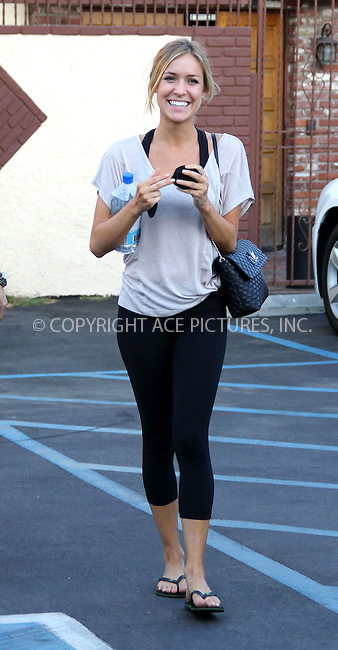 WWW.ACEPIXS.COM . . . . .  ..... . . . . US SALES ONLY . . . . .....August 31 2011, LA....Kristin Cavallari at rehearsals for Dancing With The Stars on August 31 2011 in Los Angeles....Please byline: FAMOUS-ACE PICTURES... . . . .  ....Ace Pictures, Inc:  ..Tel: (212) 243-8787..e-mail: info@acepixs.com..web: http://www.acepixs.com