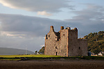 Lochranza Castle on the Isle of Arran, Scotland