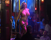 POMPANO BEACH FL - MARCH 09: Stormy Daniels makes a special appearance at Solid Gold on March 9, 2018 in Pompano Beach, Florida. <br /> CAP/MPI04<br /> &copy;MPI04/Capital Pictures