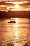 Kuching, Sarawak, Borneo, Malaysia, water taxis, Sungai Sarawak, Sarawak River, Southeast Asia,.