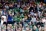 Spectators look on during the Football All-Ireland Senior Championship Quarter-Final Group 2 Phase 3 match between Kerry and Meath at Páirc Tailteann, Navan on Saturday.