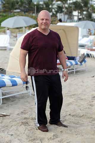 Michael Chiklis on Miami Beach on December 31, 2010 in Miami, Florida. © MediaPunch Inc. / MPI04