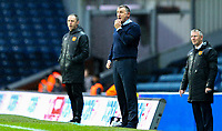 Blackburn Rovers manager Tony Mowbray watches on during the second half<br /> <br /> Photographer Alex Dodd/CameraSport<br /> <br /> The EFL Sky Bet Championship - Blackburn Rovers v Hull City - Saturday 26th January 2019 - Ewood Park - Blackburn<br /> <br /> World Copyright © 2019 CameraSport. All rights reserved. 43 Linden Ave. Countesthorpe. Leicester. England. LE8 5PG - Tel: +44 (0) 116 277 4147 - admin@camerasport.com - www.camerasport.com