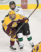 Ben Gordon, T.J. Oshie - The University of Minnesota Golden Gophers defeated the University of North Dakota Fighting Sioux 4-3 on Saturday, December 10, 2005 completing a weekend sweep of the Fighting Sioux at the Ralph Engelstad Arena in Grand Forks, North Dakota.