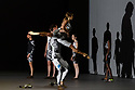 """EMBARGOED UNTIL 23:30 TUES 1ST OCTOBER, 2019. English National Opera presents """"Orpheus & Eurydice"""", by Christoph Gluck,  with libretto by Pierre-Louis Moline, version by Hector Berlioz, at the London Coliseum. Directed and choreographed by Wayne McGregor, with lighting design by Jon Clark, set design by Lizzie Clachan, costume design by Louise Gray, and video design by Ben Cullen Williams. Picture shows: Dancers of Company Wayne McGregor."""
