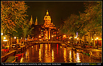 Netherlands, Amsterdam. <br /> Push your camera's technical limits. Use a high sensitivity or ISO setting like 1500-2000 to eliminate a tripod. Afterwards, you can brighten an image in any photo editor or your phone. <br /> Reflections over water are one of the best ways to add color and brightness to your composition.