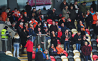 Blackpool fans enjoy the pre-match buildup<br /> <br /> Photographer Kevin Barnes/CameraSport<br /> <br /> The EFL Sky Bet League Two - Saturday 18th March 2017 - Newport County v Blackpool - Rodney Parade - Newport<br /> <br /> World Copyright &copy; 2017 CameraSport. All rights reserved. 43 Linden Ave. Countesthorpe. Leicester. England. LE8 5PG - Tel: +44 (0) 116 277 4147 - admin@camerasport.com - www.camerasport.com