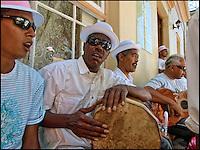 Preparing for Cape Town Carnival in the Malayan Quarter, SA 2006