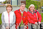 Pictured at the rail line walk from St. Brendans Church, Tralee on Sunday from left: Kay Wilson, George Wilson and Margaret Humphries..