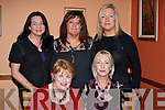 FRIENDS: Friends met up at Gringos Restaurant, Tralee on Saturday night to celebrate the festive season. Front l-r: Martha Slattery and Marie Ferriter. Back l-r: Theresa Nolan, Siobhan Murphy and Ann Lynch...........   Copyright Kerry's Eye 2008