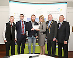 WITH COMPLIMENTS.  Attending the  Entrepreneur of the Year 2016 in the  Limerick Final of the National Enterprise Awards at a ceremony in the Dunraven Arms Hotel, Adare were Aileen Ryan, AIB who presented the Best Service Business award to Eric McNulty, McNulty&rsquo;s Fuels, Hospital, Co. Limerick. Also in the photograph are Cllr Gerald Mitchell, Deputy&nbsp;Mayor of the&nbsp;City and&nbsp;County of Limerick, Kieran Considine, Branch Manager, AIB, O&rsquo;Connell St, Cllr. Liam Galvin, Mayor of Limerick City and County Council and Eamon Ryan, Head of Enterprise, Local Enterprise Office Limerick<br /> Best Service Business - McNulty&rsquo;s Fuels is a Filling and Service Station located on the outskirts of Hospital in county Limerick. Founder, Eric McNulty, holds a Masters in Renewable Energy Planning, from the University of Dundee in Scotland. Having worked for two years in policy planning and development for the Scottish Government, Eric returned home to his native Hospital. When an opportunity arose to take over the local filling station in June 2014, he entered into a 12 month lease and opened his door for business. Since then the business has gone from strength to strength and has become an important part of the community, sponsoring local teams and events. Eric has since purchased the site and renovated the forecourt. The business prides itself on old style customer service &ndash; fully attended pumps, free home deliveries, free car checks and longer opening hours than competitors. McNulty&rsquo;s Fuels currently employ five local employees and plan to extend to three service stations across county Limerick by 2018.<br /> Photograph Liam Burke/Press