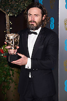 Casey Affleck<br /> at the 2017 BAFTA Film Awards After-Party held at the Grosvenor House Hotel, London.<br /> <br /> <br /> &copy;Ash Knotek  D3226  12/02/2017