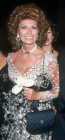 Sophia Loren, 1993, Photo By Michael Ferguson/PHOTOlink