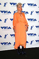 INGLEWOOD, CA - AUGUST 27: Pink in the press room at the 2017 MTV Video Music Awards At The Forum in Inglewood, California on August 27, 2017. Credit: FS/MediaPunch