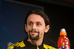 Neven Subotic during press conference day before UEFA Champions League match between Real Madrid and Borussia Dortmund at Santiago Bernabeu Stadium in Madrid, Spain. December 05, 2017. (ALTERPHOTOS/Borja B.Hojas)