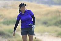Sarah Kemp (AUS) during the first round of the Fatima Bint Mubarak Ladies Open played at Saadiyat Beach Golf Club, Abu Dhabi, UAE. 10/01/2019<br /> Picture: Golffile | Phil Inglis<br /> <br /> All photo usage must carry mandatory copyright credit (© Golffile | Phil Inglis)