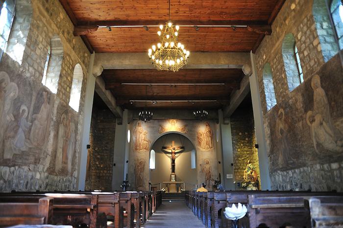 Iglesia del Cerro San Cristóbal / Santiago de Chile.