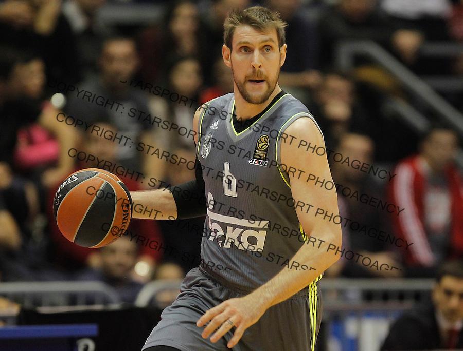Kosarka Euroleague season 2015-2016<br /> Euroleague <br /> Crvena Zvezda v Real Madrid<br /> Andres Nocioni<br /> Beograd, 27.11.2015.<br /> foto: Srdjan Stevanovic/Starsportphoto &copy;