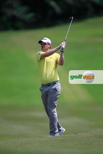Bernd Wiesberger (GER) on the 7th fairway during Round 2 of the Maybank Championship on Friday 10th February 2017.<br /> Picture:  Thos Caffrey / Golffile<br /> <br /> All photo usage must carry mandatory copyright credit     (&copy; Golffile | Thos Caffrey)