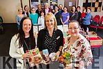 Therese Williams, Claire Malloy and Caroline O'Sullivan at Claire's Slimming World class in Leiber House, Monavalley on Tuesday morning last.