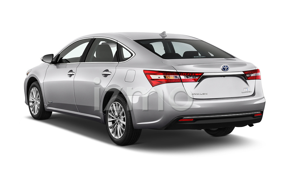 Car pictures of rear three quarter view of a 2018 Toyota Avalon Limited Hybrid 4 Door Sedan angular rear