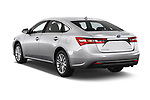 Car pictures of rear three quarter view of a 2017 Toyota Avalon Limited Hybrid 4 Door Sedan angular rear
