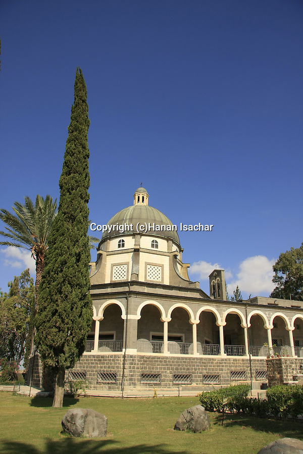 Israel, the Church of Beatitudes on the Mount of Beatitudes