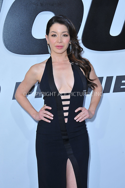 WWW.ACEPIXS.COM<br /> <br /> April 1 2015, LA<br /> <br /> Katherine Castro arriving at Universal Pictures Premiere of 'Furious 7'' at the TLC Chinese Theatre, Hollywood, on April 1, 2015 in Los Angeles.CA <br /> <br /> By Line: Peter West/ACE Pictures<br /> <br /> <br /> ACE Pictures, Inc.<br /> tel: 646 769 0430<br /> Email: info@acepixs.com<br /> www.acepixs.com