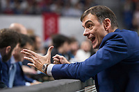 Khimki Moscow coach Georgios Bartokas during Turkish Airlines Euroleague match between Real Madrid and Khimki Moscow at Wizink Center in Madrid, Spain. November 02, 2017. (ALTERPHOTOS/Borja B.Hojas) /NortePhoto.com
