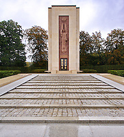 Memorial in Luxembourg dedicated to American Soldiers killed during WW2.