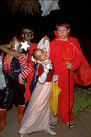 Halloween trick or treaters age 12.  St Paul Minnesota USA