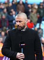 Sky Sports pundit and ex Birmingham player Kevin Phillips<br /> <br /> Photographer Leila Coker/CameraSport<br /> <br /> The EFL Sky Bet Championship - Aston Villa v Birmingham City - Sunday 11th February 2018 - Villa Park - Birmingham<br /> <br /> World Copyright &copy; 2018 CameraSport. All rights reserved. 43 Linden Ave. Countesthorpe. Leicester. England. LE8 5PG - Tel: +44 (0) 116 277 4147 - admin@camerasport.com - www.camerasport.com