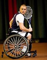 4-1-09, Renkum, NK rolstoeltennis,    Maikel Scheffers