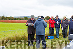 Studying the form at the Kilflynn Coursing on Sunday.