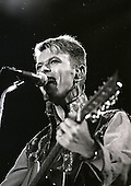 DAVID BOWIE - performing live on the Earthling Tour as the headline act at the Phoenix Festival held at the Long Marston Airfield Stratford-on-Avon UK - 20 July 1997. Photo credit: Tony Woolliscroft/IconicPix