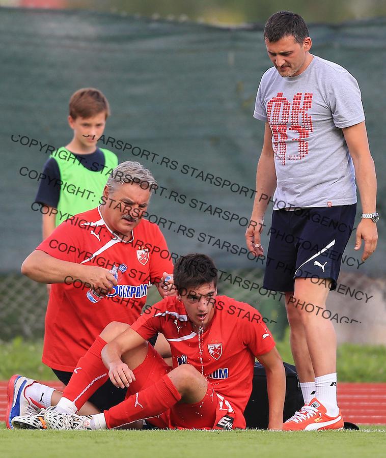 Fudbal season 2013-2014<br /> FK Crvena Zvezda pripreme<br /> Crvena Zvezda v Krka<br /> Vukan Savicevic (C)<br /> Novo Mesto, 07.12.2014.<br /> foto: Srdjan Stevanovic/Starsportphoto &copy;