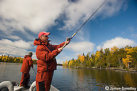 Fishing for musky