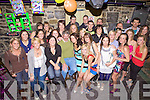 21st: Marion Enright from Lisselton celebrated her 21st last Saturday in the Keg Bar Listowel. Pictured centre with her Dad Christie and family and friends.