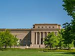 The Nelson Art Gallery is a popular destination in Kansas City, Missouri.