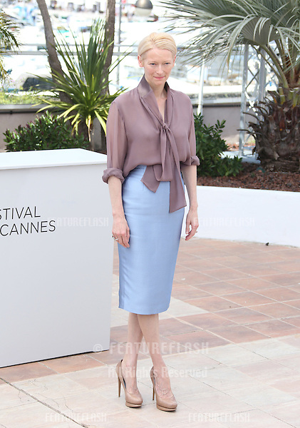Tilda Swinton at the 'Moonrise Kingdom' photocall - during the 65th Cannes Film Festival.Cannes, France. 16/05/2012 Picture by: Henry Harris / Featureflash