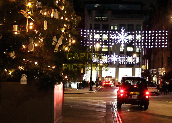 LONDON, ENGLAND - Christmas Lights and Displays in Mount Street, on November 25th 2015 in London, England<br /> CAP/ROS<br /> &copy;ROS/Capital Pictures