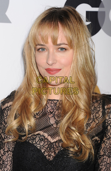 Dakota Johnson.Arriving at the GQ Men Of The Year Party at Chateau Marmont Hotel in Los Angeles, California, USA..November 13th, 2012.headshot portrait black lace top  .CAP/ROT/TM.©Tony Michaels/Roth Stock/Capital Pictures