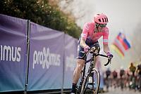 Sep Vanmarcke (BEL/EF Education First) on top of the Paterberg<br /> <br /> 103rd Ronde van Vlaanderen 2019<br /> One day race from Antwerp to Oudenaarde (BEL/270km)<br /> <br /> ©kramon