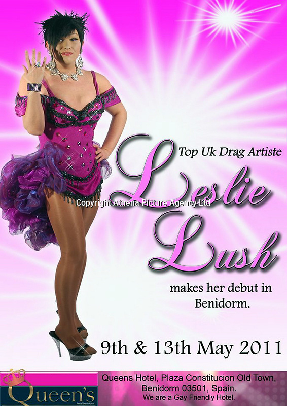 """Pictured: A show poster for Leslie Lush<br /> Re: A drag artist has been branded a """"thoroughly dishonest individual"""" after conning a woman out of her car.<br /> Lee Carl Dale - formerly known professionally as Leslie Lush - agreed to buy a Mini from a woman on Facebook for £1,400, with the seller driving to south Wales to hand it over.<br /> But Swansea Crown Court heard the purchase was """"fraudulent from the outset"""" as 33-year-old Dale's bank account was £400 overdrawn at the time, and he had no money to complete the transaction.<br /> The court heard Dale transferred £100 to his victim to cover the cost of delivery, and said the rest of the money would be transferred later that day - even claiming to be chatting to his bank on the phone to clear the payments during the hand-over."""