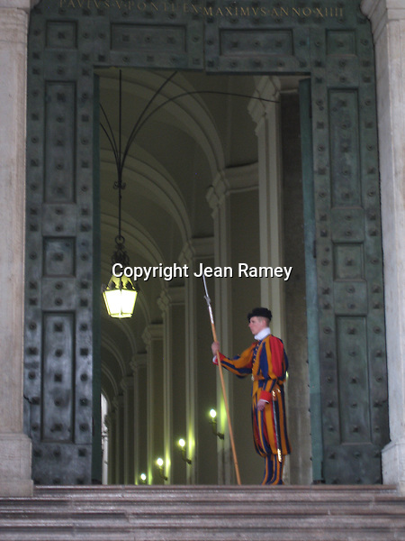 Swiss Guards at the Vatican & St. Peter's - Italy
