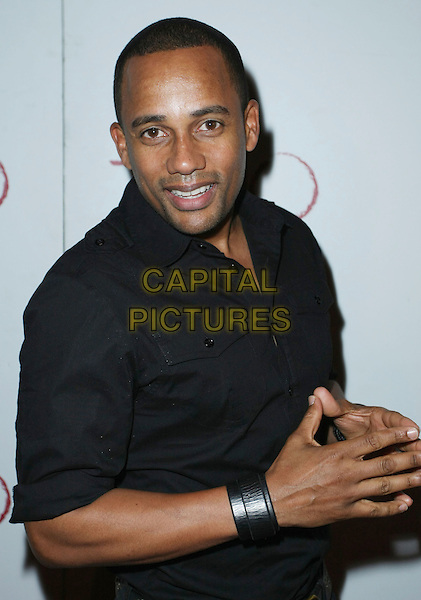HILL HARPER.Gabrielle Unions hosts the party at Tao Nightclub inside the Venetian Hotel and Casino, Las Vegas, Nevada, USA, 23 May 2008..half length black shirt.CAP/ADM/MJT.©MJT/Admedia/Capital Pictures