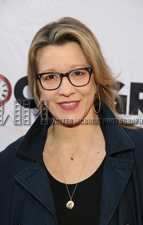 Linda Emond attends the Broadway Opening Night performance of 'Groundhog Day' at the August Wilson Theatre on April 17, 2017 in New York City
