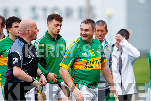 Enda Galvin The Ballyduff and Lixnaw teams after the Senior County Hurling Final in Austin Stack Park on Sunday