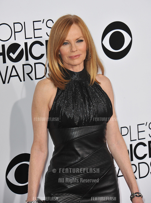 Marg Helgenberger at the 2014 People's Choice Awards at the Nokia Theatre, LA Live.<br /> January 8, 2014  Los Angeles, CA<br /> Picture: Paul Smith / Featureflash